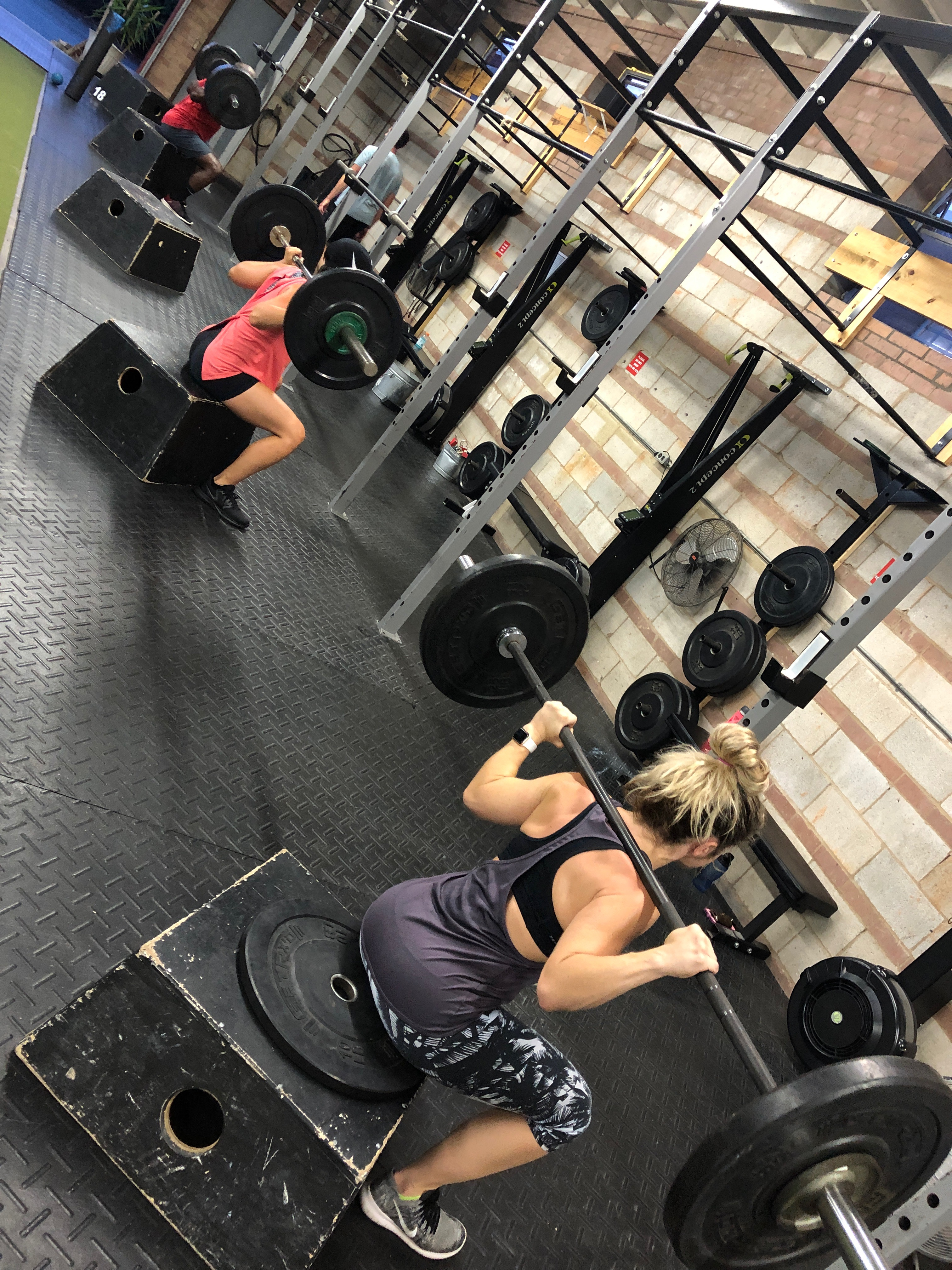 pride conditioning gym charlotte box squats